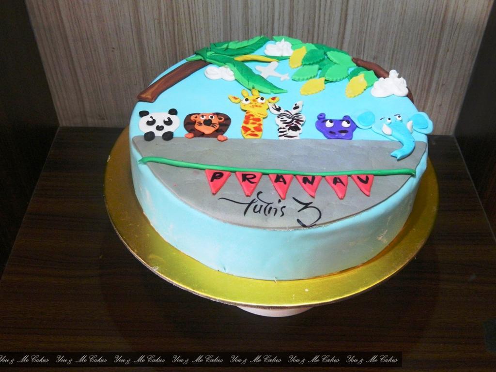 Animal Theme Cake UMe 530 1
